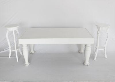 Mesa vintage niños enana 140 x 70 x 60 cm