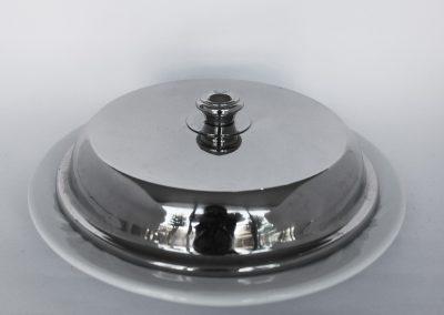 Cubre plato acero (cover)