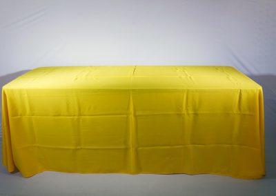 Mantel faldon amarillo