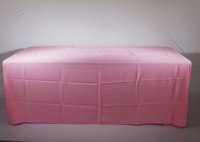 Mantel faldon rosado