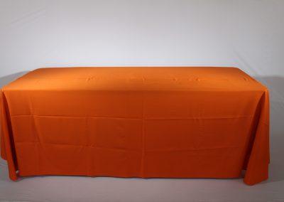 Mantel faldon naranja