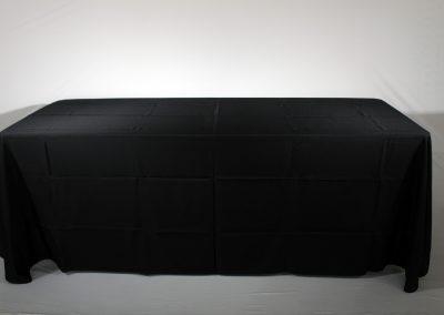 Mantel faldon negro