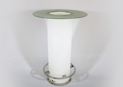 Mesa coctel led