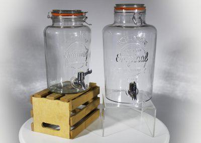Dispensador bebidas vintage grande 9 litros - pequeño 5 litros