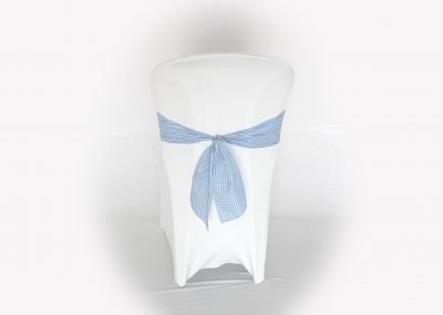 Lazo cuadritos azul
