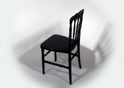 Silla napoleon negra