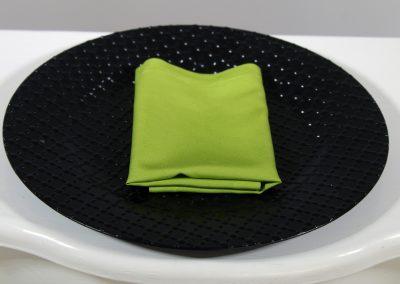 Servilleta tela verde limón