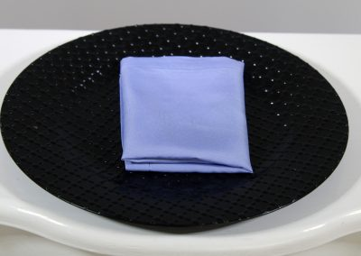 Servilleta tela azul violeta