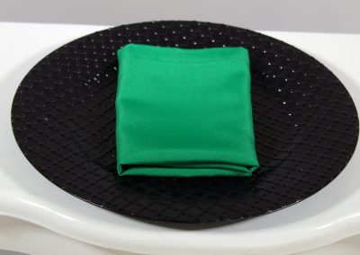 Servilleta tela verde navideño