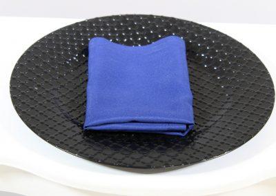 Servilleta tela azul oscuro
