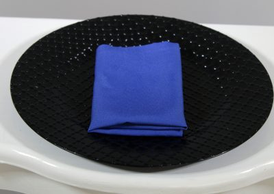 Servilleta tela azul rey