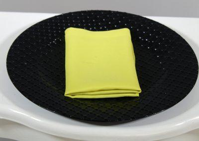 Servilleta tela amarillo biche