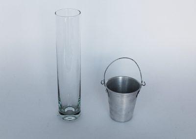 Vaso tubular -21 alto x 4 cm