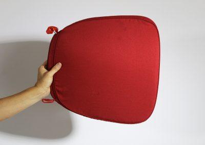 Cojin rojo