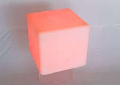 Puff cubo led