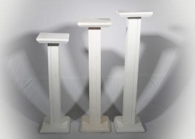 Atril madera (unidad) 98cm - 79cm - 72 cm