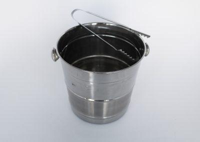Hielera electroplata