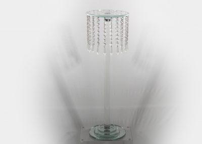 Candelabro cristal 60 cm alto