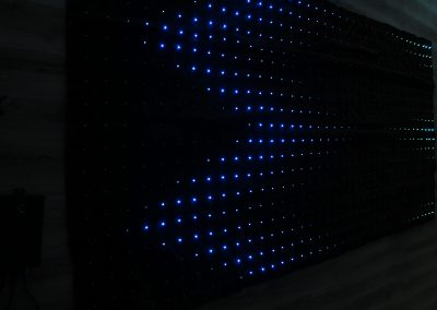 Cortina led  200 alto x 400 ancho