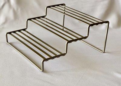 Base metalica 3 niveles 26.5 x 26 x 13 altura